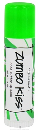 Zoom View - Zumbo Kiss Shea Butter Lip Balm