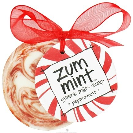 Zoom View - Zum Mint Ornament Goat's Milk Soap