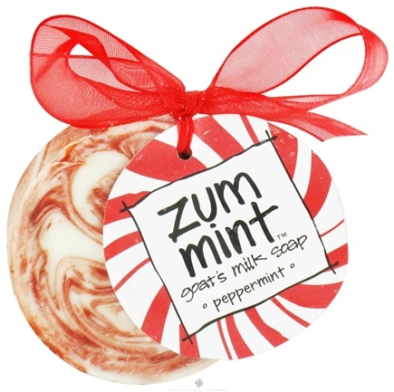 DROPPED: Indigo Wild - Zum Mint Ornament Goat's Milk Soap Peppermint - 2 oz.