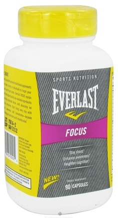 DROPPED: Everlast Sports Nutrition - Focus - 90 Capsules CLEARANCE PRICED