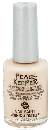 DROPPED: PeaceKeeper Cause-Metics - Nail Paint Natural Nail Polish Paint Me Tranquil - 0.51 oz. CLEARANCE PRICED