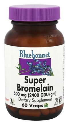 DROPPED: Bluebonnet Nutrition - Super Bromelain 500 mg. - 60 VCap(s)