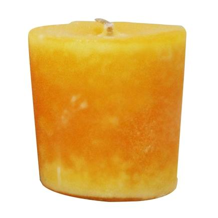Aroma Naturals - Relaxing Naturally Blended Votive Eco-Candle Lavender & Tangerine - 1 Count