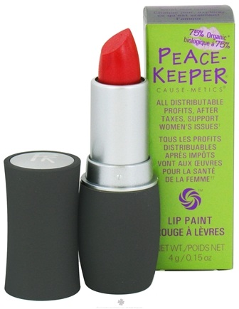DROPPED: PeaceKeeper Cause-Metics - Lip Paint Natural Lipstick Paint Me Content - 0.15 oz. CLEARANCE PRICED