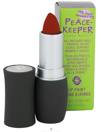 DROPPED: PeaceKeeper Cause-Metics - Lip Paint Natural Lipstick Paint Me Open Minded - 0.15 oz. CLEARANCE PRICED