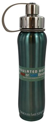 New Wave Enviro Products - Doublewall Hot/Cold Insulated Stainless Steel Water Bottle Metallic - 17 oz.