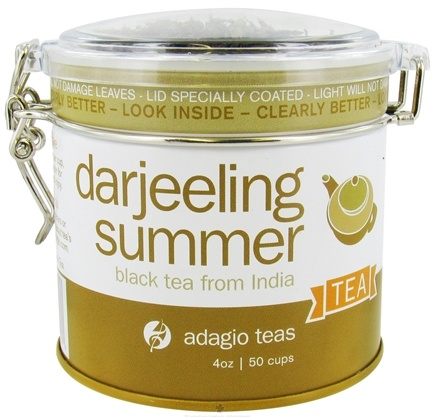 DROPPED: Adagio - Black Tea Loose Leaf Darjeeling Summer - 4 oz. CLEARANCE PRICED