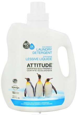 DROPPED: Attitude - Laundry Detergent 40 Loads Lavender & Grapefruit - 60.8 oz. CLEARANCE PRICED
