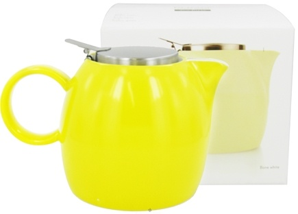 DROPPED: Tea Forte - Pugg Tea Pot Butter Yellow - 24 oz.