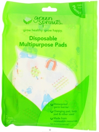 DROPPED: Green Sprouts - Disposable Multipurpose Pads 15 in. x 19 in. - 7 Pad(s) CLEARANCE PRICED
