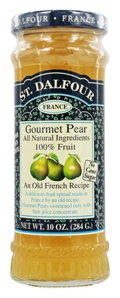 St. Dalfour - Fruit Spread 100% Natural Jam Gourmet Pear - 10 oz.