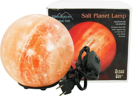 DROPPED: Himalayan Salt - Planet Lamp By Aloha Bay - 6 in.