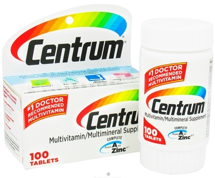 DROPPED: Centrum - Multivitamin/Multimineral Supplement - 100 Tablets