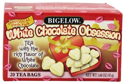 Bigelow Tea - Black Tea White Chocolate Obsession - 20 Tea Bags