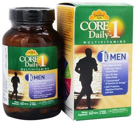 Country Life - Core Daily 1 For Men - 60 Tablet(s)