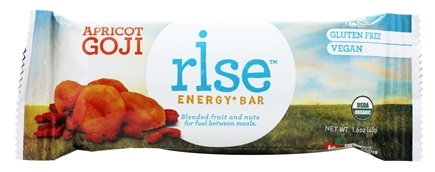 Rise Foods - Rise Energy Bar Apricot Goji - 1.6 oz. Formerly PranaBar