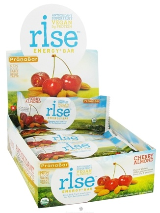 DROPPED: Rise Foods - Rise Energy Bar Cherry Almond - 1.6 oz. Formerly PranaBar