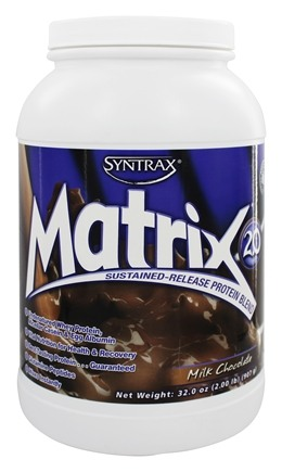 Syntrax - Matrix 2.0 Sustained-Release Protein Blend Milk Chocolate - 2.17 lbs.