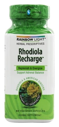 Zoom View - Rhodiola Recharge Adrenal Balance Support