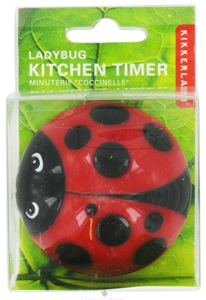 Zoom View - Ladybug Kitchen Timer