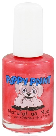 DROPPED: Piggy Paint - Puppy Paint Nail Polish Fire Hydrant Fun Red - 0.5 oz. CLEARANCE PRICED