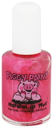 DROPPED: Piggy Paint - Nail Polish Forever Fancy Sparkly Bright Pink - 0.5 oz. CLEARANCE PRICED