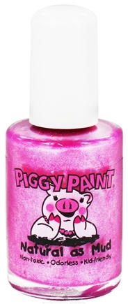 DROPPED: Piggy Paint - Nail Polish Girls Rule Bright Shimmery Purple - 0.5 oz. CLEARANCE PRICED