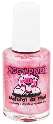 DROPPED: Piggy Paint - Nail Polish Candy Coated Swirling Light Plum - 0.5 oz. CLEARANCE PRICED