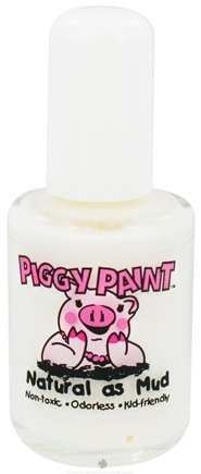 DROPPED: Piggy Paint - Nail Polish Tip of the Iceberg White - 0.5 oz. CLEARANCE PRICED