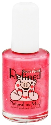 DROPPED: Piggy Paint - Nail Polish Refined Not Your Mama's Mauve Dusty Rose - 0.5 oz. CLEARANCE PRICED