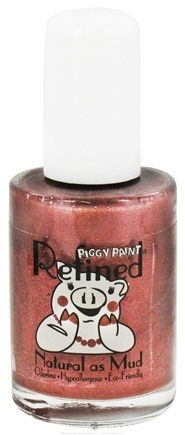 DROPPED: Piggy Paint - Nail Polish Refined Coffee Talk Shimmery Copper - 0.5 oz.