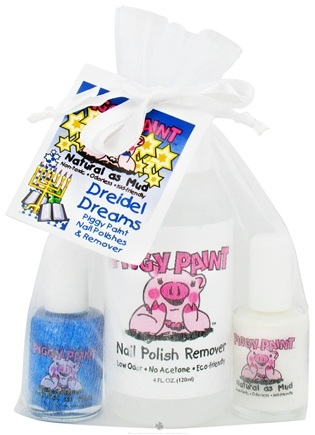 DROPPED: Piggy Paint - Nail Polish Gift Set Dreidel Dreams - 3 Piece(s) CLEARANCE PRICED