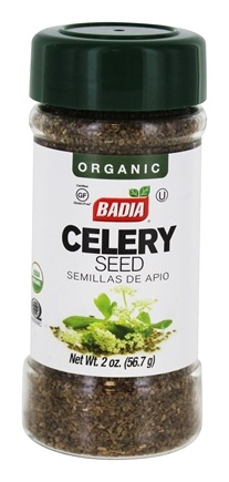 DROPPED: Badia - Organic Celery Seed - 2 oz. CLEARANCE PRICED