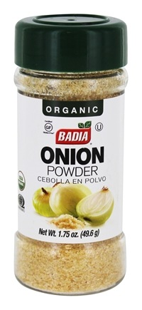 Badia - Organic Onion Powder - 1.75 oz.