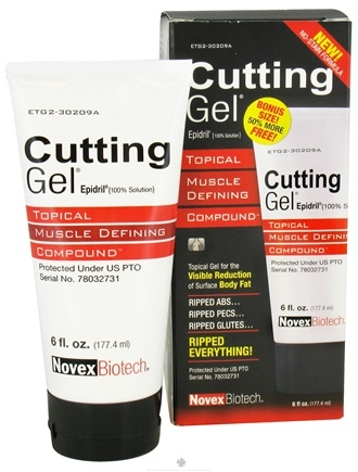 Novex Biotech - Cutting Gel Bonus Size 50% More - 6 oz.