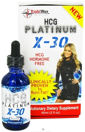 DROPPED: Hcg Platinum - X-30 - 30 Day Weight Loss Program - 2 oz.