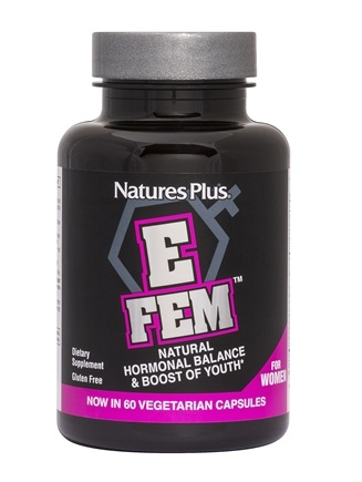 Nature's Plus - E Fem for Women - 60 Capsules
