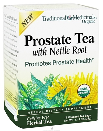 DROPPED: Traditional Medicinals - Organic Prostate Tea with Nettle Root - 16 Tea Bags