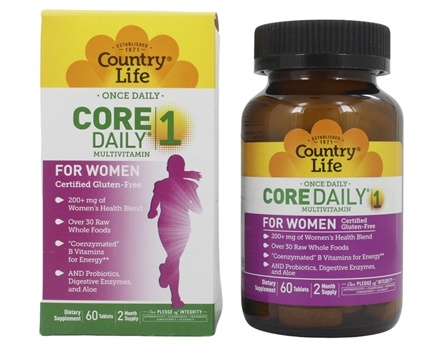 Country Life - Core Daily 1 For Women - 60 Tablets