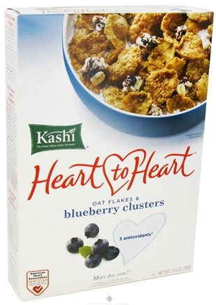 DROPPED: Kashi - Heart to Heart Oat Flakes & Blueberry Clusters - 13.4 oz.