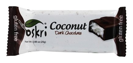 Oskri - Gluten-Free Mini Coconut Bar Dark Chocolate - 0.88 oz.