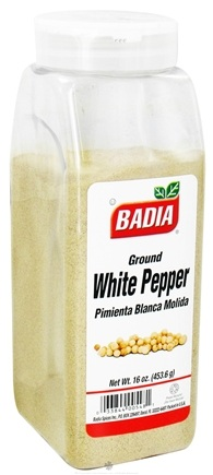 DROPPED: Badia - Ground White Pepper - 16 oz. CLEARANCE PRICED