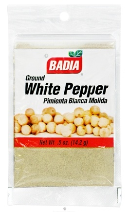 DROPPED: Badia - Ground White Pepper - 0.5 oz. CLEARANCE PRICED
