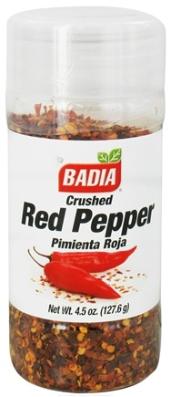 DROPPED: Badia - Crushed Red Pepper - 4.5 oz. CLEARANCE PRICED