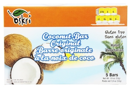 Zoom View - Organic Coconut Bars Gluten-Free