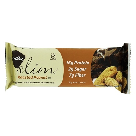 NuGo Nutrition - Slim Bar Roasted Peanut - 1.59 oz.