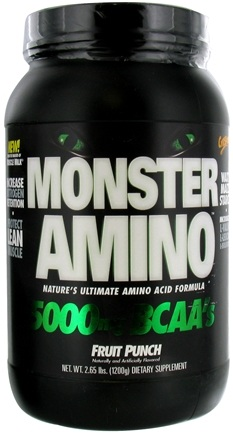 Zoom View - Monster Amino Ultimate Amino Acid Formula