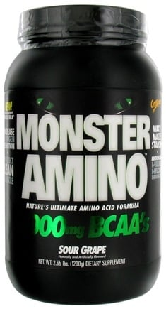 DROPPED: Cytosport - Monster Amino Ultimate Amino Acid Formula Sour Grape - 2.65 lbs. CLEARANCE PRICED