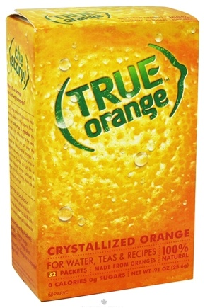 Zoom View - True Orange Crystallized Orange 32 x .8g Packets
