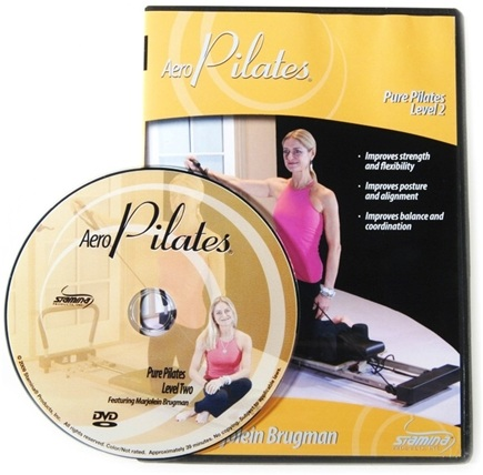 DROPPED: Stamina Products - AeroPilates Level Two Pure Pilates Workout with Marjolein Brugman DVD 05-9124D